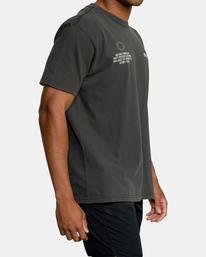 6 Big Pin Workout Shirt Black AVYZT00838 RVCA