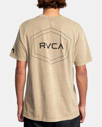 1 Big Pin Workout Shirt Grey AVYZT00838 RVCA