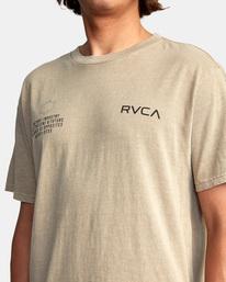 2 Big Pin Workout Shirt Grey AVYZT00838 RVCA