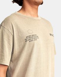 5 Big Pin Workout Shirt Grey AVYZT00838 RVCA