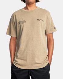 0 Big Pin Workout Shirt Grey AVYZT00838 RVCA