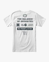 1 All Brand Short Sleeve Workout Shirt White AVYZT00840 RVCA
