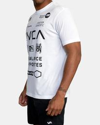 5 All Brand Short Sleeve Workout Shirt White AVYZT00840 RVCA