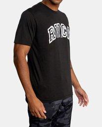 4 VA Sport | Double Major Workout Shirt Black AVYZT00842 RVCA