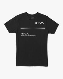 0 VA Sport | Pix Bar Workout Shirt Black AVYZT00843 RVCA
