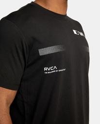 9 VA Sport | Pix Bar Workout Shirt Black AVYZT00843 RVCA