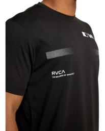 8 VA Sport | Pix Bar Workout Shirt Black AVYZT00843 RVCA