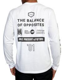 8 All Brand Long Sleeve Workout Shirt White AVYZT00844 RVCA