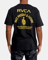 1 VA Sport   Hang Up Workout Shirt Black AVYZT00851 RVCA
