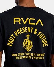 5 VA Sport   Hang Up Workout Shirt Black AVYZT00851 RVCA