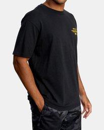 4 VA Sport   Hang Up Workout Shirt Black AVYZT00851 RVCA