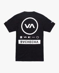 1 Marcus Buchecha | VA Sport x Buchecha One Short Sleeve Tee Black AVYZT00964 RVCA
