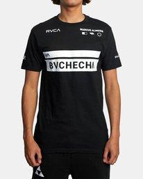 2 Marcus Buchecha | VA Sport x Buchecha One Short Sleeve Tee Black AVYZT00964 RVCA