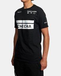 4 Marcus Buchecha | VA Sport x Buchecha One Short Sleeve Tee Black AVYZT00964 RVCA