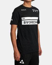 5 Marcus Buchecha | VA Sport x Buchecha One Short Sleeve Tee Black AVYZT00964 RVCA