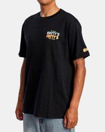 5 Matty Matheson   Matty's Patty's North Shore Short Sleeve Tee Black AVYZT00965 RVCA
