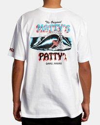 3 Matty Matheson | Matty's Patty's North Shore Short Sleeve Tee White AVYZT00965 RVCA