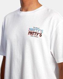 4 Matty Matheson | Matty's Patty's North Shore Short Sleeve Tee White AVYZT00965 RVCA