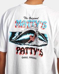 8 Matty Matheson | Matty's Patty's North Shore Short Sleeve Tee White AVYZT00965 RVCA