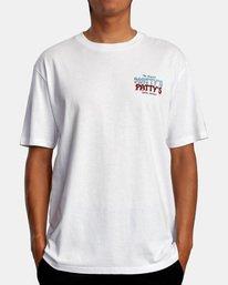 2 Matty Matheson | Matty's Patty's North Shore Short Sleeve Tee White AVYZT00965 RVCA