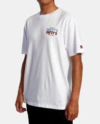 5 Matty Matheson | Matty's Patty's North Shore Short Sleeve Tee White AVYZT00965 RVCA