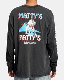 3 Matty Matheson | Matty's Patty's Tokyo Long Sleeve Tee Black AVYZT01019 RVCA