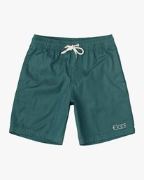 "0 Boy's Tom Gerrard Elastic 16"" Trunk Grey B103URGE RVCA"
