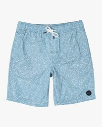 0 Boys CLUB ELASTIC SHORT Brown B1071RCE RVCA