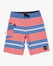 0 BOY'S UNCIVIL STRIPE TRUNK Pink B1161RUS RVCA
