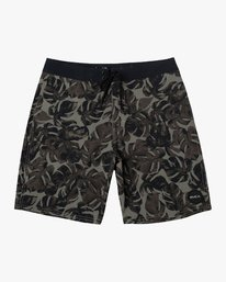 0 Boy's VA Printed Trunk Green B155TRVA RVCA