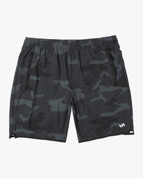 0 Boys YOGGER STRETCH SHORT Black B2012RYS RVCA