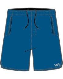 0 Boys YOGGER STRETCH SHORT Blue B2012RYS RVCA