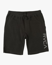 0 Boy's Ripper Fleece Sweatshort Black B201URRI RVCA