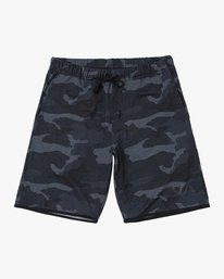 0 Boys VA SPORT SHORT III Brown B2062RSS RVCA