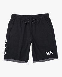 0 BOYS VA SPORT IV SHORT Black B2063RSS RVCA