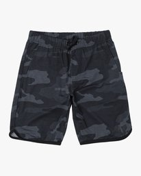 0 BOYS VA SPORT IV SHORT Brown B2063RSS RVCA