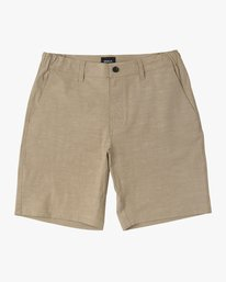 0 Boy's All Time Coastal Hybrid Short  Green B206QRCO RVCA