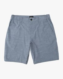 0 Boy's All Time Coastal Hybrid Short  Blue B206QRCO RVCA