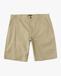 0 Boys Weekday Stretch Short Beige B240TRWD RVCA