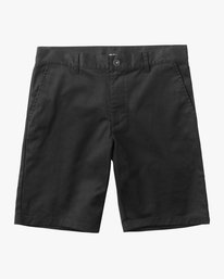 0 Boys Weekday Stretch Short Black B240TRWD RVCA