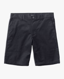 0 Boy's Weekday Stretch Short Blue B240TRWD RVCA