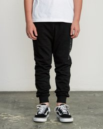 0 Boy's Ripper Sweatpant Black B301URRI RVCA