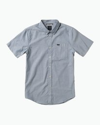 0 Boy's That'll Do Oxford Shirt Blue B3504TDS RVCA
