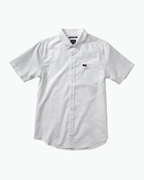 0 Boys That'll Do Oxford Shirt White B3504TDS RVCA