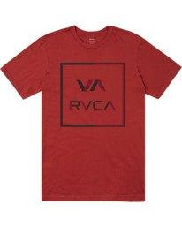 0 Boys CIRCUIT SHORT SLEEVE T-SHIRT Red B4012RCI RVCA