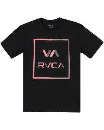 0 Boys CIRCUIT SHORT SLEEVE T-SHIRT Black B4012RCI RVCA