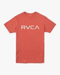 0 Boy's Big RVCA T-Shirt Green B401SRBI RVCA