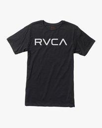 0 Boy's Big RVCA T-Shirt  B401SRBI RVCA