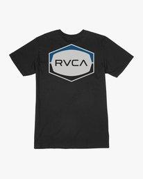 0 Boy's Unleaded T-Shirt  B401SRUN RVCA