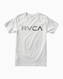 0 Boy's Blinded T-Shirt White B401TRBL RVCA